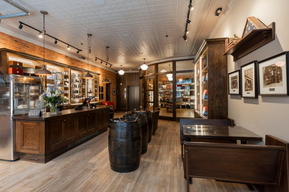 The dimestore inside Chaloner's Cigar House